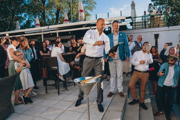 Summer party and festival opening on Mánes terraces
